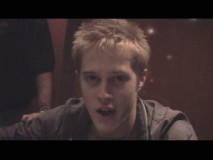 "Lucas Grabeel, the concert emcee, gives a behind-the-scenes guide of the guys' tour bus in ""On the Road""."