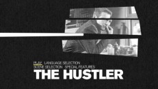 "Disc 1's Main Menu makes good use of thematic animation and imagery from ""The Hustler."""