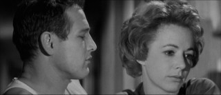 Eddie admires Sarah Packard (Piper Laurie), the troubled new woman in his life.