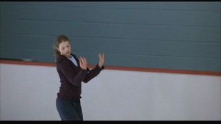 Casey likes skating around the ice while making glamorous hand gestures.