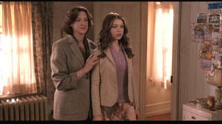Casey's mom (Joan Cusack) is set upon her daughter getting accepted to Harvard.