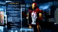 Iron Man appears to remind you how much cooler it'd be to navigate the DVD menus with his hand technology.