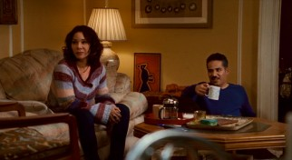 Lucy (Daphne Rubin-Vega) and Clyde (John Ortiz) are the more interesting and tumultuous of the film's two couples.