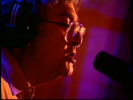 "Randy Newman's ""Good News"" music video affords you an up-close and personal look at the singer-songwriter, though his portions are now windowboxed in contrast to the 16:9 film clips."