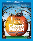 James and the Giant Peach: Special Edition Blu-ray Disc + DVD cover art