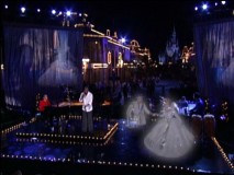 "The ghost of Cinderella and her prince show up to haunt Wayne Brady during the original tune ""Beautiful."""