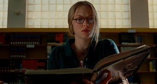 A book about occultist rituals that's a little-too-easily found in the school's library sets the wheels in Needy's (Amanda Seyfried) head into motion.