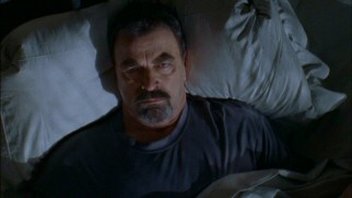 Trying to solve Boston's parking ramp murder mystery keeps gum-chewing gumshoe Jesse Stone (Tom Selleck) awake at night.