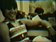 Hey hey, he's a Monkee. At least I think that is Davy Jones in a striped tank top. The silent 8mm bonus footage isn't the clearest.