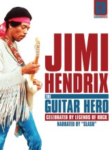 Jimi Hendrix: The Guitar Hero - Classic Artists DVD cover art -- click to buy DVD from Amazon.com