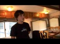 "Josh Hutcherson shows us his trailer in ""Being Josh."""