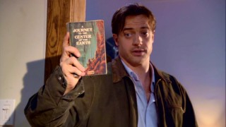 Take a look, it's in a book, with Brendan Fraser (Brendan Fraser...)