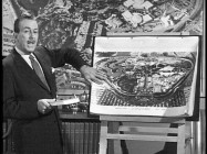 "Walt Disney lets viewers on his plans for a Liberty Square area at Disneyland in ""The Liberty Story"" television special."