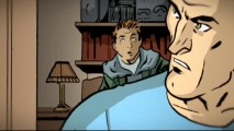 "The animated graphic novel ""Jumpstart: David's Story"" is like a comic book that moves. Oh yeah!"