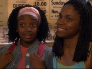 Laivan Greene and Shanica Knowles co-star as fellow Joy Jumpers/Hot Chili Steppers Keisha and Shauna.