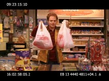 Rainn Wilson finds it difficult to step out of the office and into the convenience store in this confounding gag take.