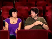 "Oscar-winning stripper/blogger-turned-screenwriter Diablo Cody and director Jason Reitman sit in a theater and talk, honest to blog, about ""Creating 'Juno'."""