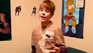 "Taking his place between 2Pac and Bart Simpson, a young Justin Bieber covers Chris Brown's ""With You"" in one of his earliest YouTube videos (viewed over 30 million times to date)."