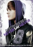 Justin Bieber: Never Say Never DVD cover art -- click to buy from Amazon.com
