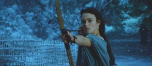 In her second film for producer Jerry Bruckheimer, Keira Knightley plays Guinevere, a bow-and-arrow wielding warrior.
