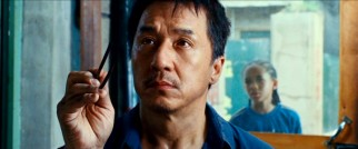 Paying tribute to Mr. Miyagi's fly-catching chopstick work, Jackie Chan is thusly introduced as Mr. Han.