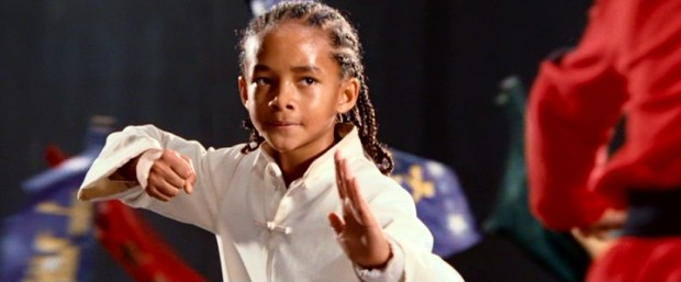 Move out of the way, Ralph Macchio and Hilary Swank; Jaden Smith is the new karate, er, kung fu kid.