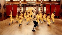 "Kids follow their master's lead in the music video for Cee-Lo's ""Kung Fu Fighting"" cover."