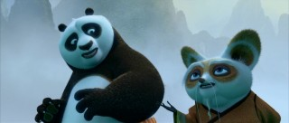 As part of the training process, Shifu shows Po the birthplace of kung fu.