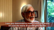 Hayao Miyazaki explains how a producer's daughter shaped the character of Kiki and Miyazaki's intentions for the film.