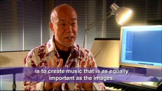 "Miyazaki's go-to composer Joe Hisaishi reflects on four of his experiences ""Scoring Miyazaki."""