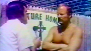 "The real Danny Green gives a shirtless interview in a ""Rise and Fall of the Irishman"" news segment recreated in the film."