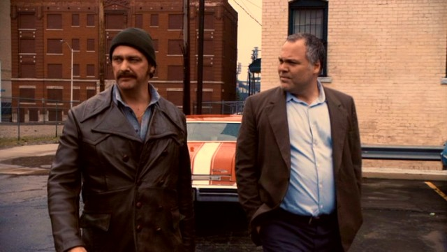 "Danny ""The Irishman"" Greene (Ray Stevenson) becomes an influential figure in Cleveland's 1970s organized crime scene, associating with the likes of mobster John Nardi (Vincent D'Onofrio)."