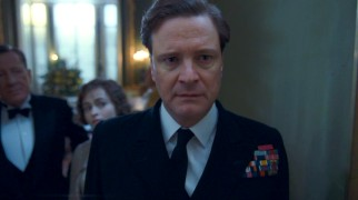 Communication difficulties are highly distressing for speech-impaired King George VI (Colin Firth).