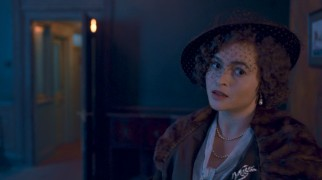The part may be a bit slight for an Oscar nomination, but it is future Queen Mother Elizabeth Bowes-Lyon (Helena Bonham Carter) who finds Lionel.
