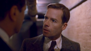Guy Pearce raises his bit part in a Best Picture winner count to two with his brief but important turn as George's fun older brother Edward.