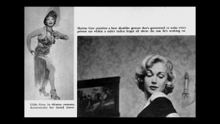 Gilda Gray and Marian Carr are featured in Cavalier magazine's Mickey Spillane's Dames photo gallery hidden on the disc.