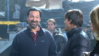 "Director James Mangold appears to be having fun directing Cruise and Diaz in ""Wilder Knights and Crazier Days."""