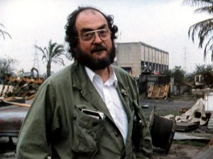 An older Kubrick is seen at work on his penultimate production, where East London stands in for war-torn Vietnam.