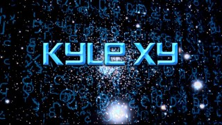 "The title logo for ""Kyle XY"", an hour-long drama series, during its first season on ABC Family."