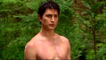 The first time we see Kyle XY, he's naked in the woods and dripping with pink goo.