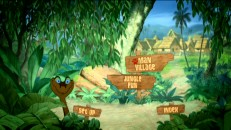 Kaa pops up now and then on the Disc 2 Main Menu. Man Village Good, Jungle Fun Not So Much.