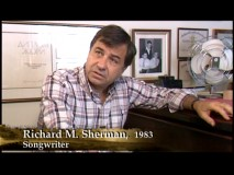 "In making-of documentary ""The Bare Necessities"", songwriter Richard Sherman is among the many people directly associated with the film who appear in early-'80s interview footage. He's also one of the few who comment in new, present-day sit-downs."