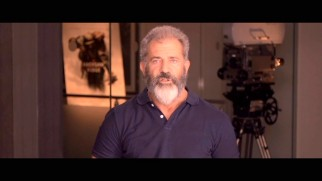 A very bearded Mel Gibson acknowledges veterans in this Veterans Day greeting.