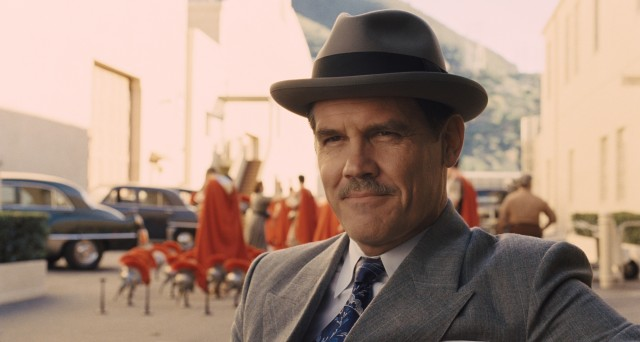 "In the foremost role of ""Hail, Caesar!"", Josh Brolin plays Eddie Mannix, the chief of Capitol Pictures."