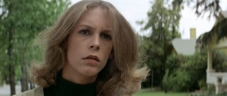 Laurie Strode (Jamie Lee Curtis) is seeing things this Halloween.