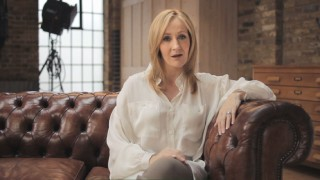 Harry Potter creator J.K. Rowling talks up her newest work, the website Pottermore, in this Disc 2 promo.