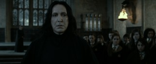 New headmaster Severus Snape (Alan Rickman) is not happy to see Harry back at Hogwarts, but all will be revealed.