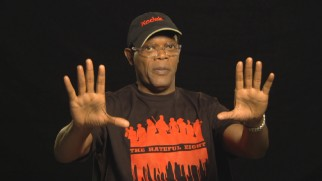 Samuel L. Jackson seems a tad overexcited in his Guide to Glorious 70mm.
