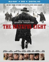 The Hateful Eight: Blu-ray + DVD + Digital HD combo pack cover art -- click to buy from Amazon.com