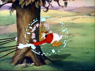 "I don't know much about Donald's fox hunting methods, but I'm guessing this frozen frame find the obnoxious commentator invoking the phrase ""BLAM!"""